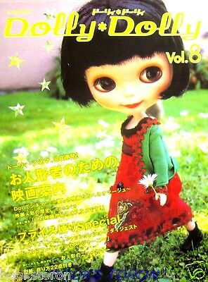Dolly Dolly Vol.8 - BLYTHE, Doll Clothes../Japanese Doll Magazine