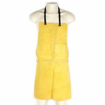 American Tool Exchange, Strong Suede Leather Apron, Double Riveted For Strong Bi