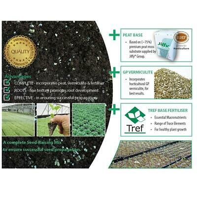 Complete Seed Raising Mix with peat | vermiculite | fertiliser. Seedling plants.