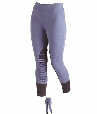SPORT Hac Tac Silicone Breeches Ladies Navy