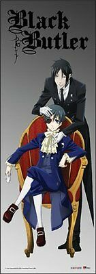 *NEW* Black Butler: Sebastian & Ciel Tall Wall Scroll by GE Animation