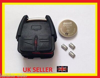 Vauxhall Opel Vectra Signum Omega Zafira Astra 3 Button Remote Key Fob Case