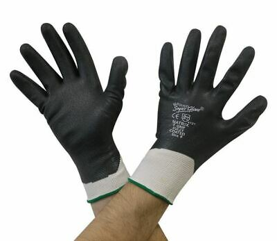 10 Pairs Polyco Matrix F Grip Work Gloves Nitrile Fully Coated Wet & Oily Grip