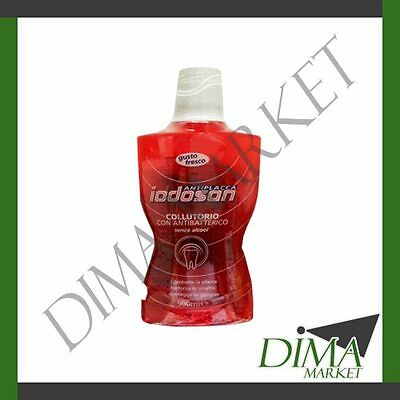 Iodosan Antiplacca Colluttorio Con Antibatterico 500Ml