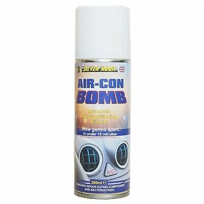 AIR CON BOMB AIR CONDITIONING CLEANER CAR AUTO  Simple to Use (SGAC2)