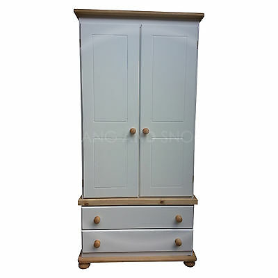 Hand Made New Richmond Furniture 2 Drawer Wardrobe (Assembled)
