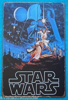 Star Wars Tin Poster