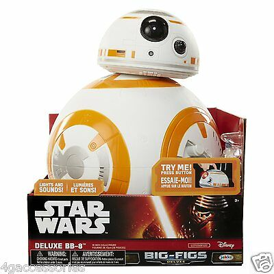 "Star Wars The Force Awakens Giant Size 18"" Deluxe BB-8 Action Figure In Stock!"
