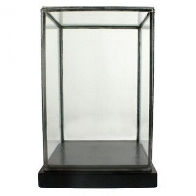 Pierre Glass Showcase Display Box, Black. Delivery is Free