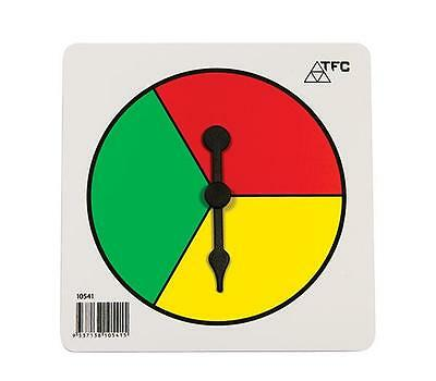 Spinner 3 Colours x1 Maths Board Games Numeracy Teacher Resource Kids Primary