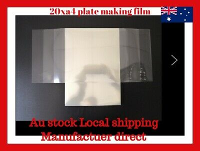 20xA4 Inkjet Laser Printing Plate-Making Film Screen Printing