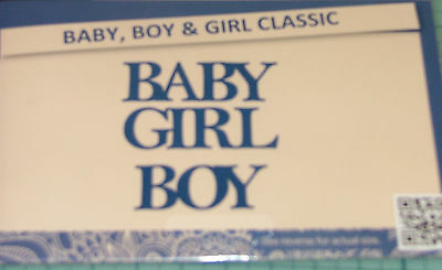 Tattered Lace - Baby Girl And Baby Boy Dies  -   Dies - See Pic 2 For Sizes