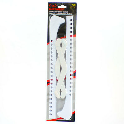 Skate Guards, Blade Guards for Hockey and Figure Skates, White
