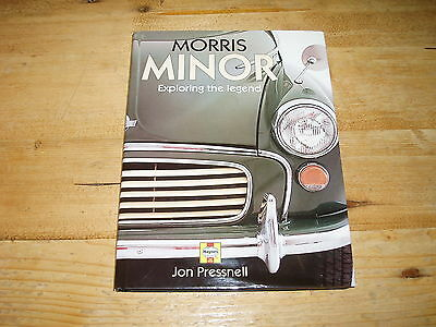 Book - Morris Minor - Exploring the Legend by Jon Pressnell