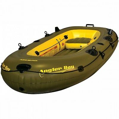 AIRHEAD ANGLER BAY INFLATABLE BOAT 4 Person - Great for fishing