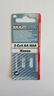 Maglite 2-Cell AA/AAA Xenon Replacement Bulb for Maglite 2-Cell Torch