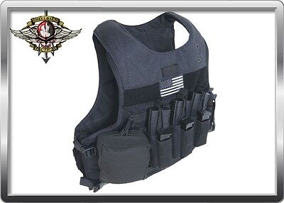 Shellback Tactical Gear Aggressor Armor Plate Carrier Vest Mil Spec MOLLE