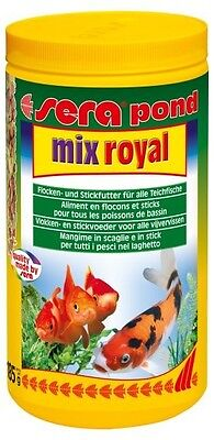 NOURRITURE BASSIN SERA POND MIX ROYAL 1 LITRE ref 7100