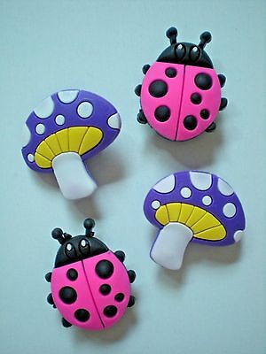 Jibbitz Croc Clog Shoe Charms Button Plug Beetle Holey Accessories WristBand SP