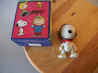Hallmark Peanuts Gallery Snoopy WWI Flying Ace Jointed Arms & Legs Doll numbered
