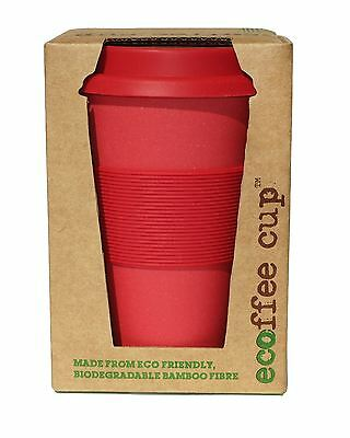Ecoffee Cup Red Dawn Reusable Coffee Cup - 400ml