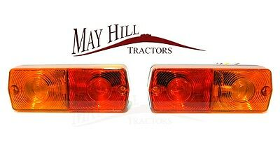 Ford,Massey Ferguson,David Brown Tractor Flat Rear Light (PAIR) - Part No 3461