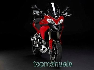Ducati Multistrada 1200 Mts1200 1200S Abs Workshop Service Manual