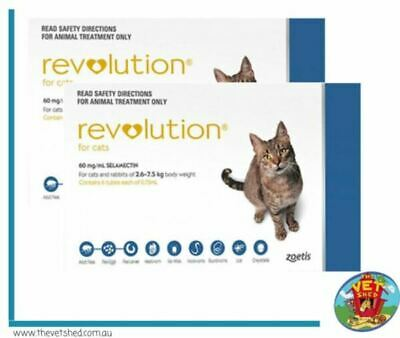 Revolution for Cats 12 pack Blue *Plus 4 FREE Bonus Doses*