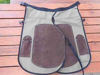 """""""low Rise Design""""  Horseshoeing Chaps/farrier Shoeing Apron"""