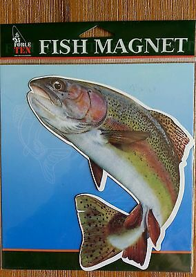 Force Ten Rainbow Trout - Fish Magnet Boat Truck