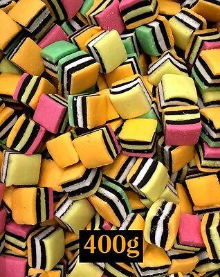 Licorice Allsorts 400g Bulk for Party Candy Buffet