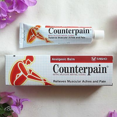 60g COUNTERPAIN HOT Analgesic Balm - Muscular Aches and Pain Relieves