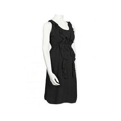 Mamalicious Maternity Little Black Smart Cocktail Party Dress CLICK FOR 40% OFF