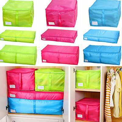 Large Jumbo Clothes Garments Compressed Space Saving Storage Bags