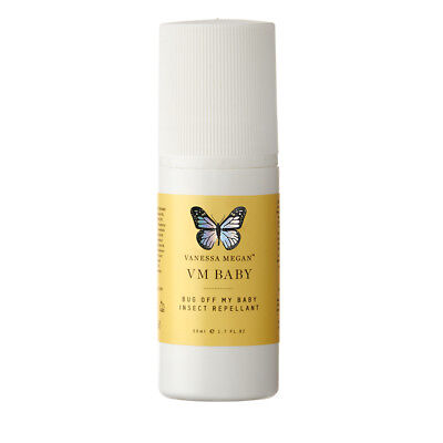 Vanessa Megan Bug Off My Baby Insect Repellent - Roll On (50ml)   BRAND NEW