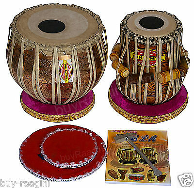 Tabla Set/mukta Das™/concert Ganesha Golden Copper Bayan 4Kg/maha-Agni Dayan/add
