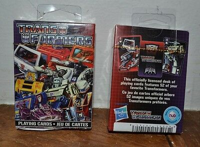 Transformers Playing Cards New /& Sealed
