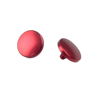 2x Soft Shutter Release Button For Fujifilm X100 X-Pro1 X-E1 T10 X10 X20 X30 Red