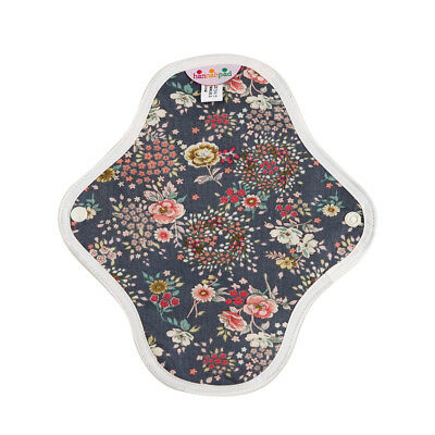 hannahpad Certified Organic Washable Small Pad - Antique Indigo (2 Pack) NEW