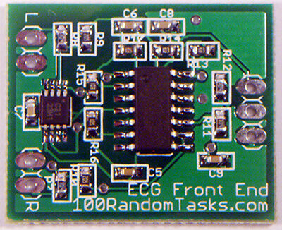 ECG Analog Front End with 50Hz Notch Filter