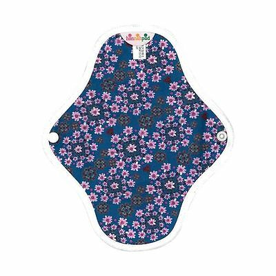 hannahpad Certified Organic Washable Pantyliner - Flower Blossom (2 Pack) NEW