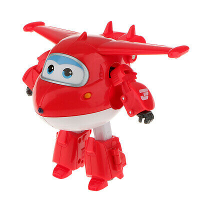 Super Wings LARGE JETT Transformer Robot Toy Smart Airplane Superwings