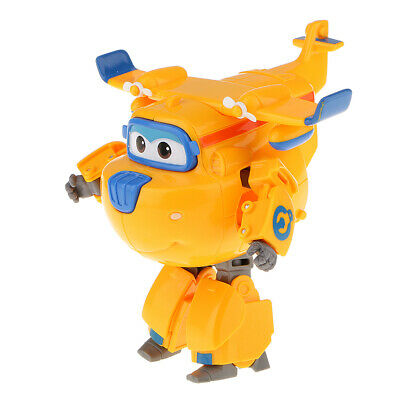 Super Wings LARGE DONNIE Transformer Robot Toy Smart Airplane Superwings