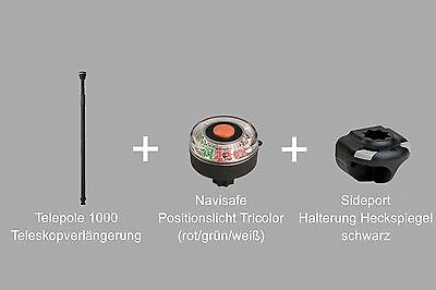 Set: Telepole 1000 + Sideport + Navisafe LED TriColor, Schlauchboote 03-0001-11