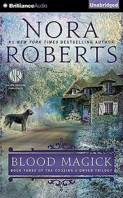 BLOOD MAGICK unabridged audio book on CD by NORA ROBERTS