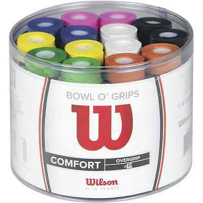 Set Of Ten (10) Wilson Overgrip Grip For Tennis Set Of10 Also For Squash  Padel