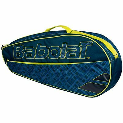 Red Babolat Clubline 3 Racket Tennis Bag , Ideal For Travel , Padel Tennis