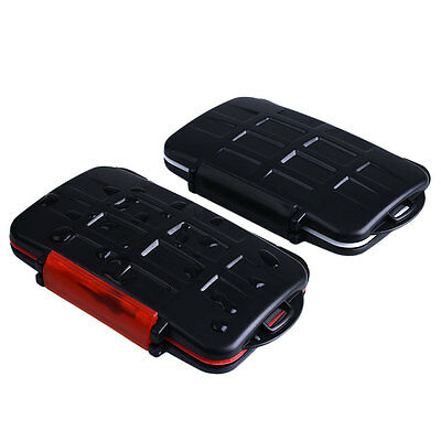 Waterproof Shockproof Hard Memory Card Storage Case CF/SD/TF Cover Protector