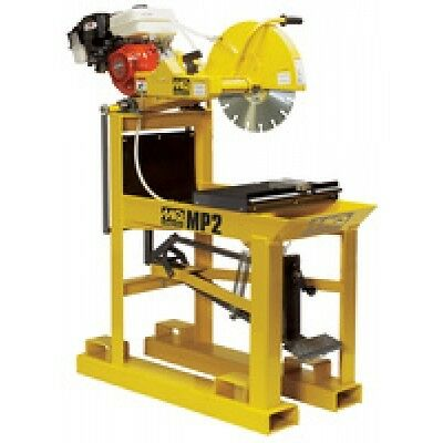 "New Multiquip MP2H 20"" Blade Guard Honda GX270 Gasoline Masonry Table Saw"