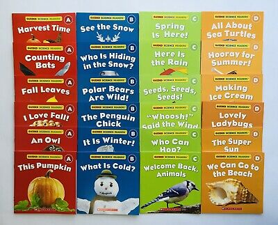Animals Lot 24 Guided Science Readers Childrens Books Learn to Read Nonfiction